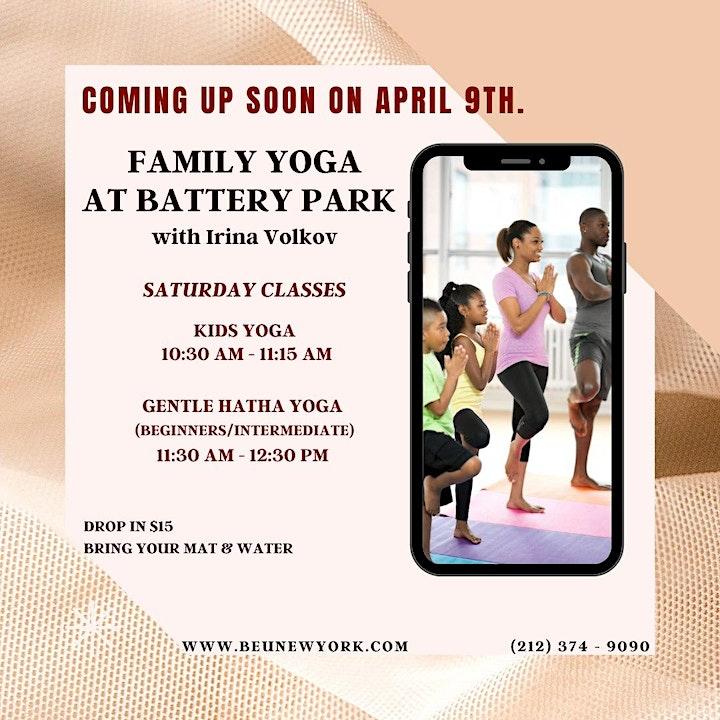 Family Yoga at Battery Park image