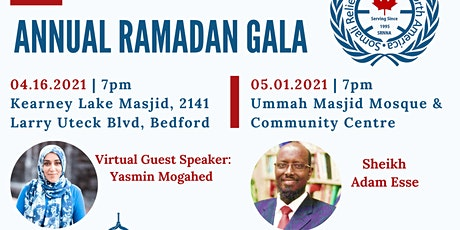 SOMALI RELIEF NETWORK'S ANNUAL RAMADAN GALA tickets