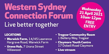 Western Sydney Connection Forum - Revised date tickets