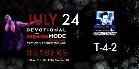 Devotional The Depeche Mode Experience with Speedway and T-4-2 tickets
