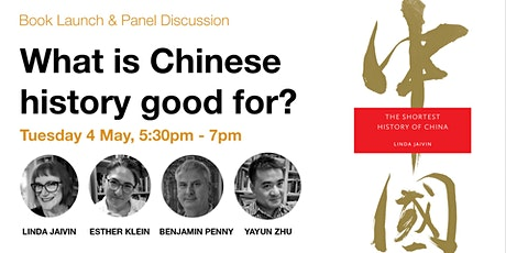 Book Launch & Panel Discussion — What is Chinese history good for? tickets