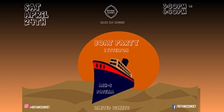 Botanic Sunset Boat Party Edition tickets