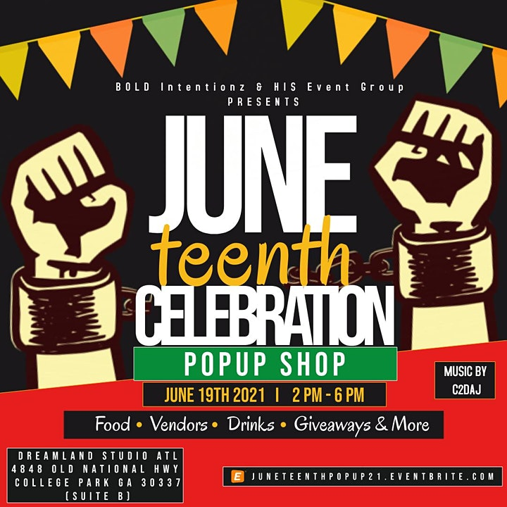 Juneteenth Celebration & Pop-Up Shop image