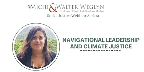 Navigational Leadership and Climate Justice tickets