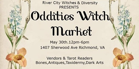 Oddities Witch Market tickets