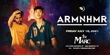 7.16 | ARMNHMR | THE MARC | SAN MARCOS TX tickets