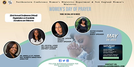 NEC New England Women's Day of Prayer 2021 ~Virtual tickets