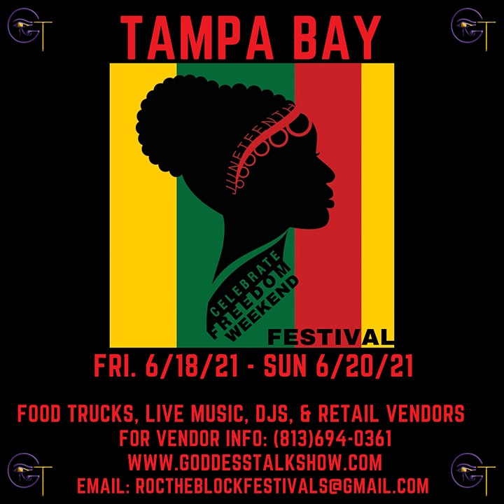 Tampa Bay Juneteenth Festival R.O.C. The Block image