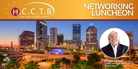 Hispanic Chamber of Tampa Bay April Networking Luncheon tickets