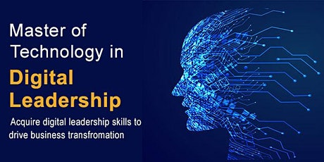 NUS-ISS Master of Technology in Digital Leadership 1-1 e-Consultation tickets
