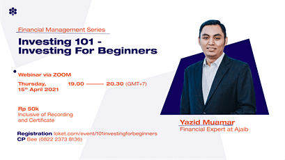 Investing 101 - Investing For Beginners Tickets