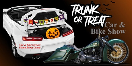3C Event: Trunk or Treat Car & Bike Show tickets