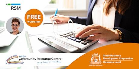 Bookkeeping Essentials (Wagin) tickets