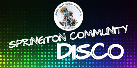 Springton Community Disco tickets