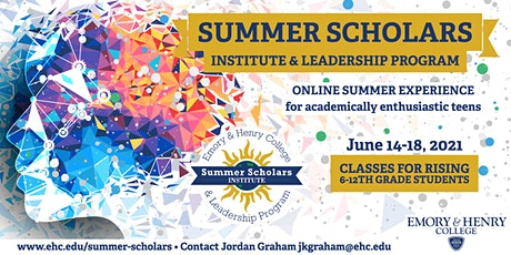 Summer Scholars Institute & Leadership Program tickets