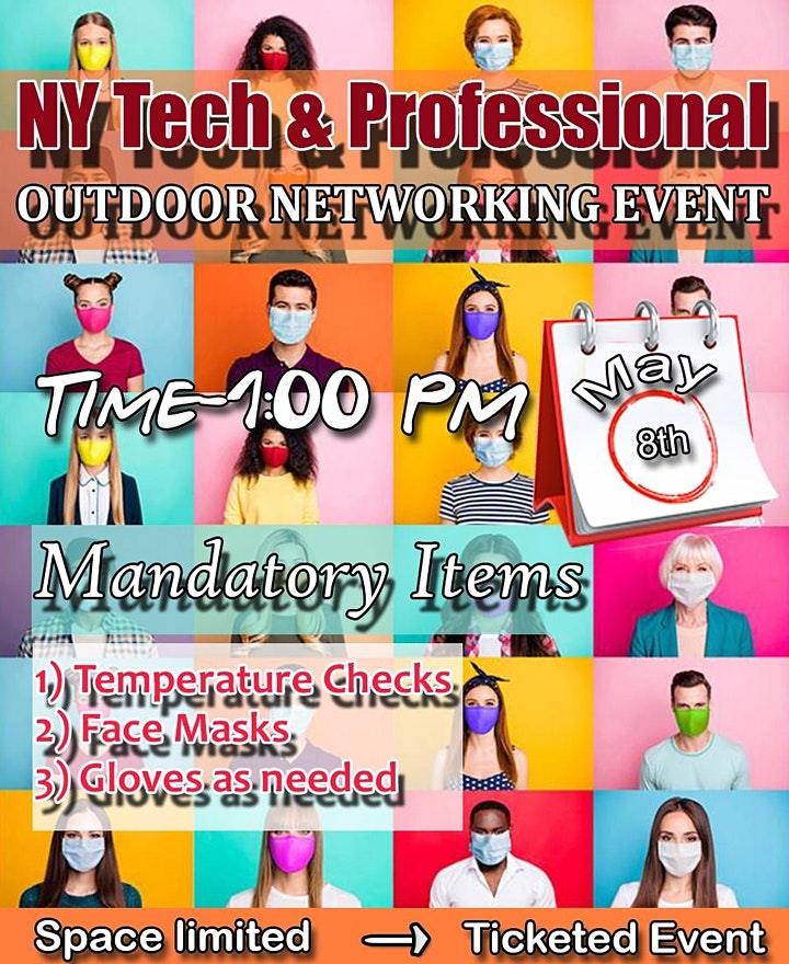 NY TECH & PROFESSIONAL OUTDOOR NETWORKING EVENT. image
