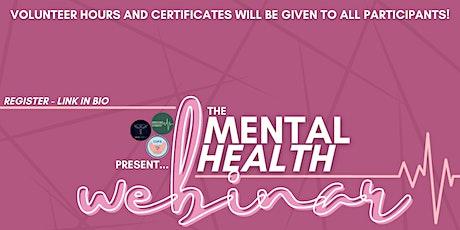Mental Health Webinar tickets
