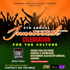 5TH ANNUAL JUNETEETH CELEBRATION tickets