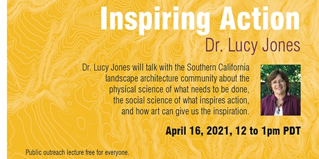 Inspiring Action - A Conversation with Dr. Lucy Jones and CPPLA tickets