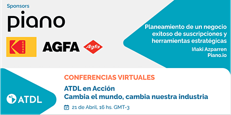 Conferencias Virtuales: ATDL en acción. entradas