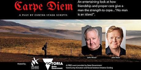 Carpe Diem - a comedic play about men's mental health tickets