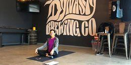 Yoga and a beer tickets