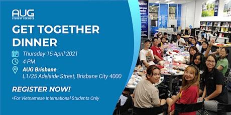 [AUG Brisbane] Get Together Dinner tickets