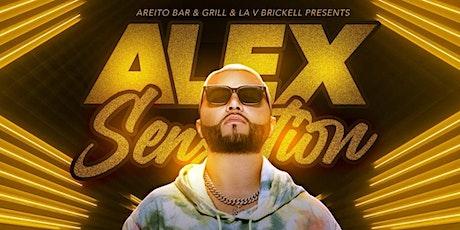 Alex Sensation at LA V Nightclub Miami 4/17 tickets