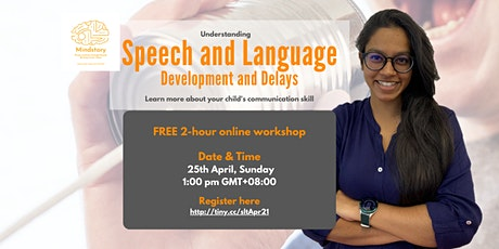 Understanding Speech and Language Development and Delays tickets