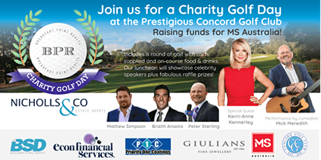 Breakfast Point Realty and Nicholls & Co Charity Golf Day for MS tickets