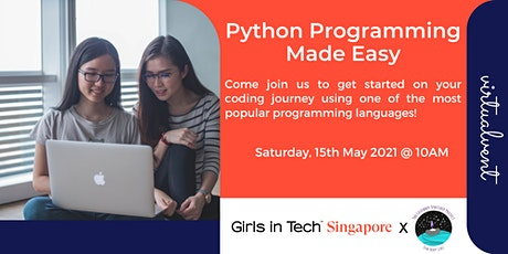 Python Programming Made Easy tickets