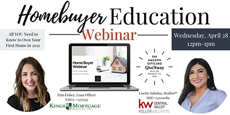 Homebuyer Education Webinar tickets