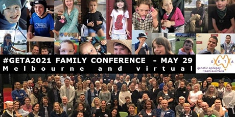 Genetic Epilepsy Family Conference 2021 run by GETA tickets