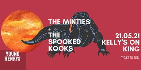 Young Henrys Live Lounge Ft. The Minties & The Spooked Kooks tickets