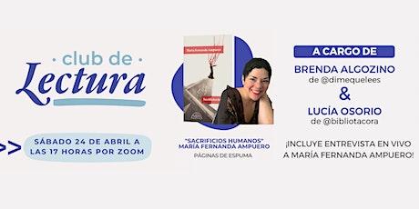 Club de Lectura - Edición Abril (Sacrificios humanos) entradas