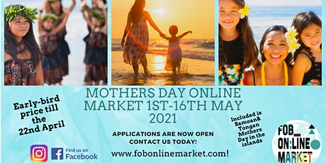 Mothers Day Fob Virtual Online Market tickets