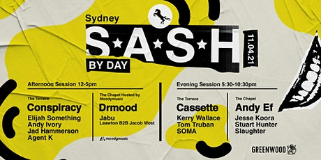 ★ S.A.S.H By Day ★ Sunday 11th April ★ tickets