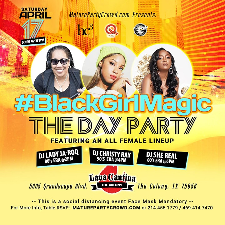 #BlackGirlMagic THE DAY PARTY image