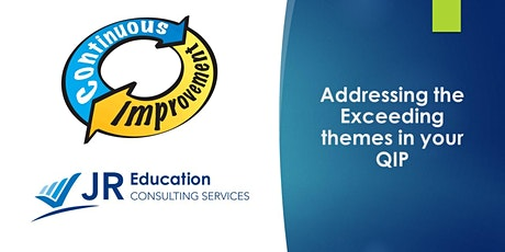 Addressing the Exceeding themes in your QIP Workshop (Melbourne) tickets