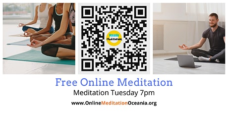 "Free Online Meditation Event ""Meditation Tuesday"" tickets"