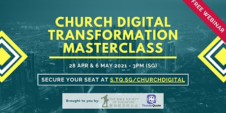 [Free Webinar] Digital Transformation Masterclass for Churches tickets