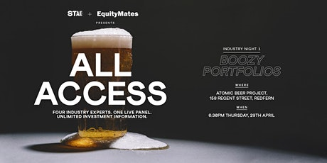 All Access: Boozy Portfolios tickets