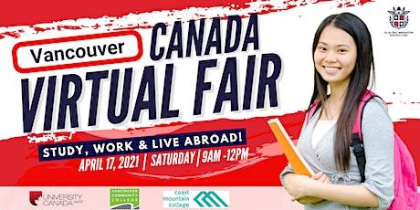 ❗GRANDEST CANADA VIRTUAL FAIR  2021 | VANCOUVER tickets