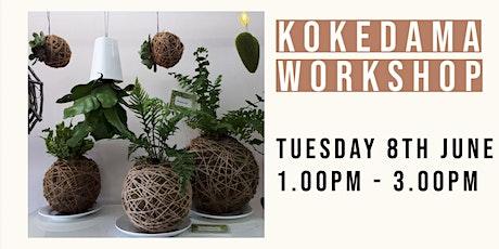Kokedama Workshop  | Cooinda tickets