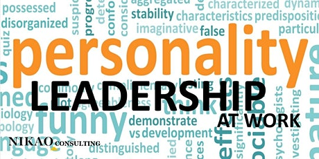 Personality Leadership at Work tickets
