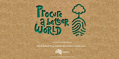 "Procurement Australasia – ""Procure a Better World""  Conference tickets"