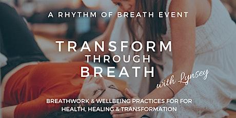 Transform through Breath - full day immersion tickets