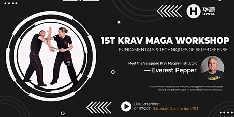 Krav Maga Workshop with Master Everest Pepper--Fundamentals and Techniques tickets