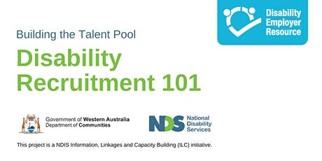 Disability Recruitment 101 tickets