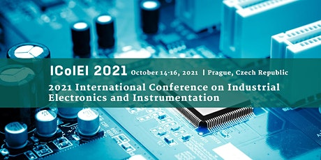 Conference on Industrial Electronics and Instrumentation (ICoIEI 2021) tickets